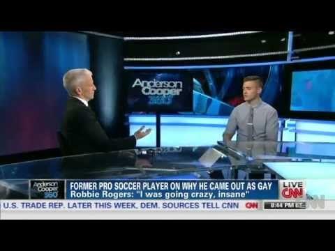 (51) Robbie Rogers   Anderson Cooper 360º (CNN) - YouTube