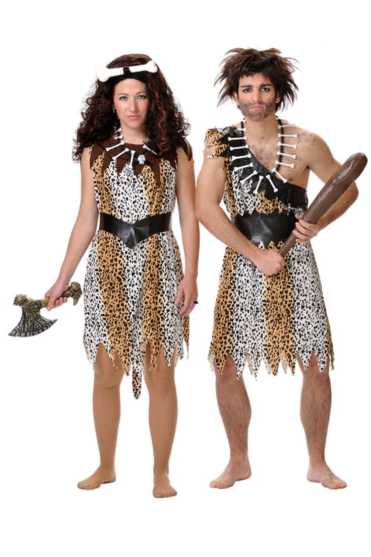 Disfraz de #primitiva para mujer. Vuelve a nuestros orígenes  #cavernicola