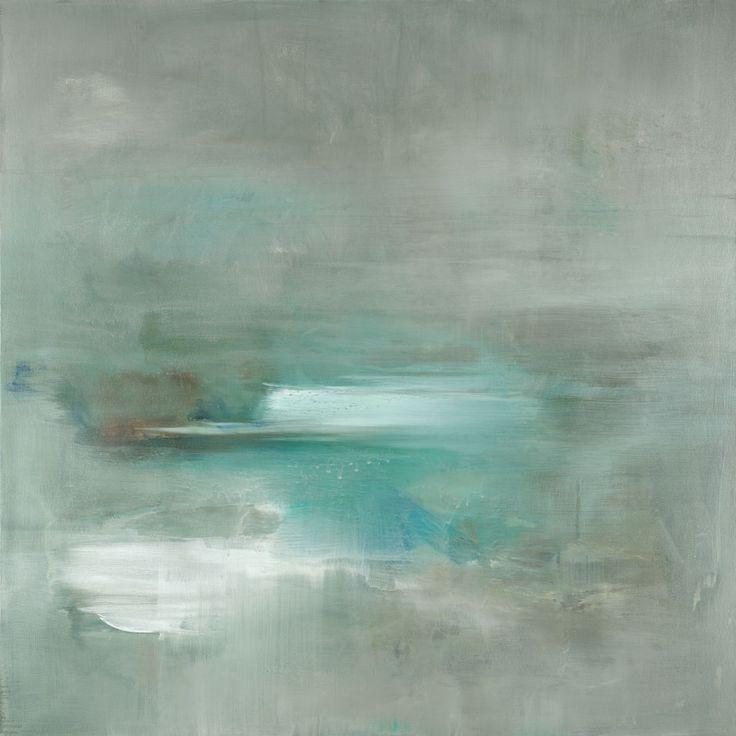 Misty Pale Azura Sea