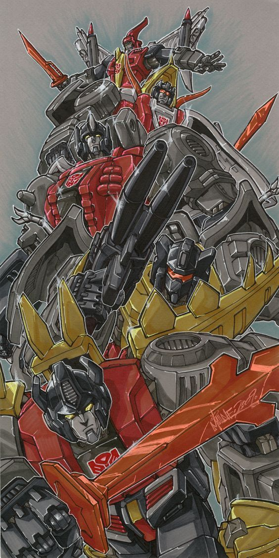 Transformers G1 Dinobots