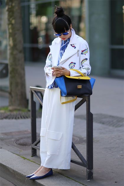 Paris Fashion Week Street Style Fall/Winter 2014