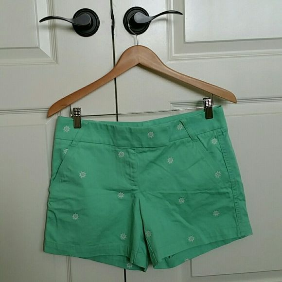 J. crew anchor shorts Super adorable and easy to wear. J. crew factory brand new with tags. Color:  Mint J. Crew Shorts Jean Shorts