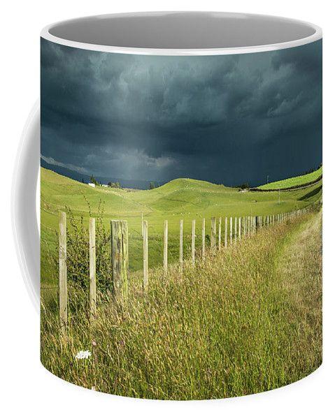 New Zealand Coffee Mug featuring the photograph Matamata Countryside by Racheal Christian