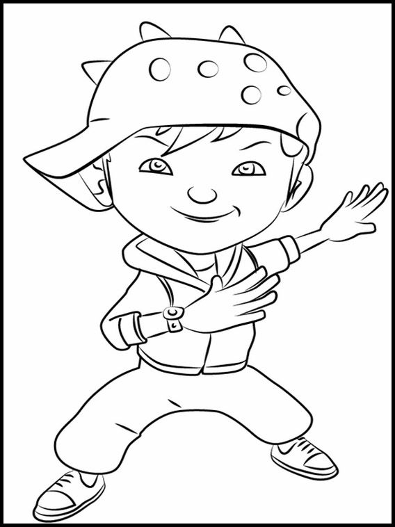 Printable Coloring Pages For Kids BoBoiBoy 11 Coloring Pages, Coloring  Pages For Kids, Printable Coloring Book