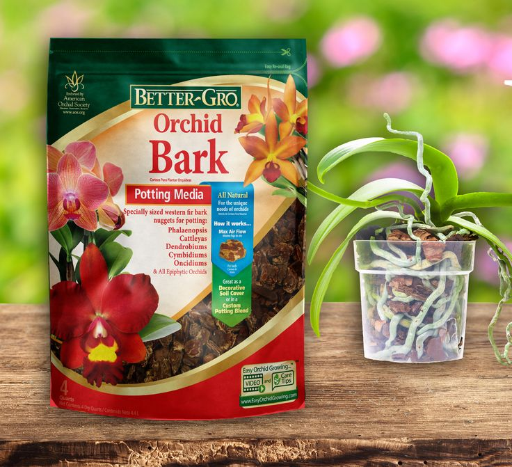 Better-Gro® Orchid Bark's quality and versatility makes it the medium of choice for orchid cultivators, as well as general gardeners. This mix is a combination of specifically sized and graded grower's choice western fir bark that has been specifically created to handle the potting needs of a wide range of orchids and ornamentals.