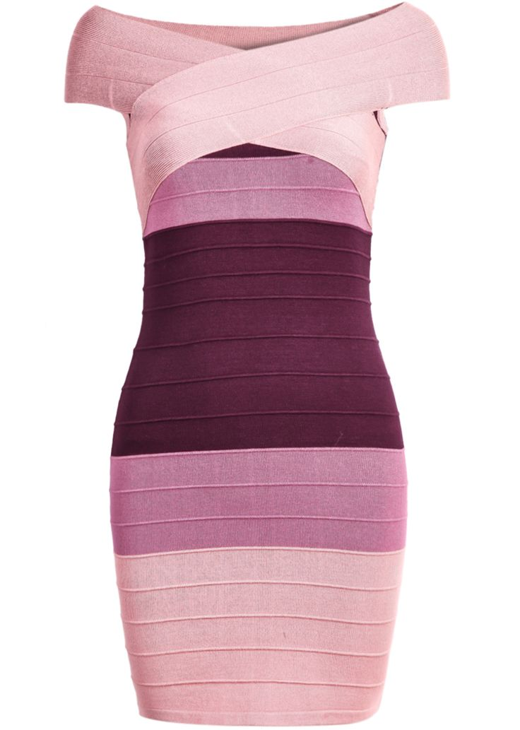 Shop Pink Ombre Short Sleeve Bandage Dress online. Sheinside offers Pink Ombre Short Sleeve Bandage Dress & more to fit your fashionable needs. Free Shipping Worldwide!