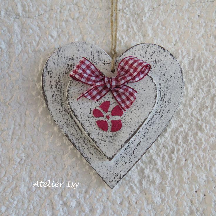 wood heart - coeur en bois - cuore in legno