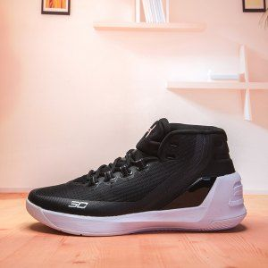 40572b8411a4 Mens Under Armour Curry 3 Cyber Monday Black Wite 1269279 006 Basketball  Shoes