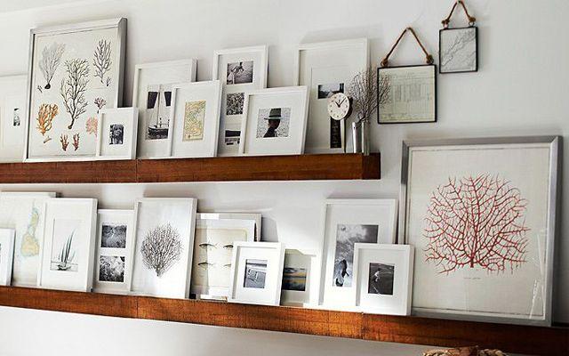 Ideas para la colocaci n de cuadros barbed for Ikea decoracion paredes