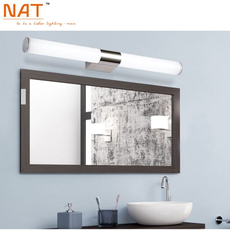 Find More Wall Lamps Information About ECOBRT 16w 80cm Long Acrylic LED Linear Bathroom Mirror Lighting