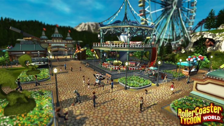 RollerCoaster Tycoon World Delayed