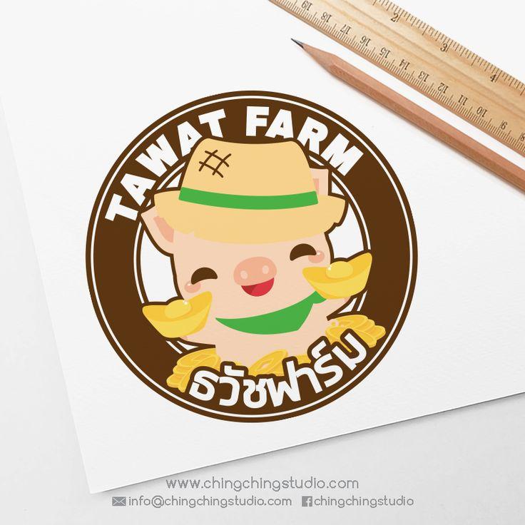 Logo Design for TAWAT FARM | by chingchingstudio