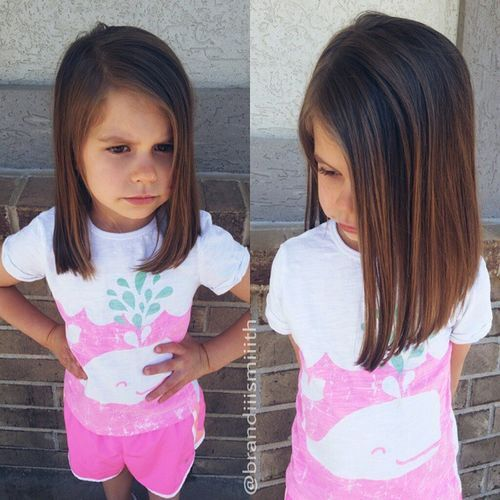 cool bob haircut for girls with thick hair