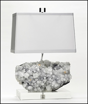 Amazing Gorgeous Mineral Lamps By Brenda Houston Home Design Ideas