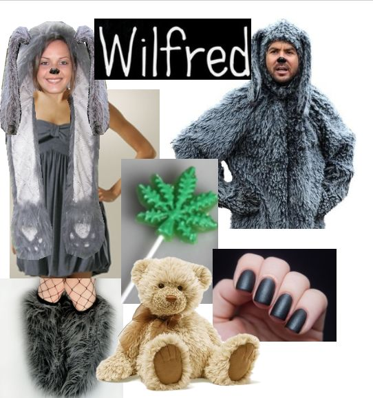 Idea for a wilfred costume. BAM.