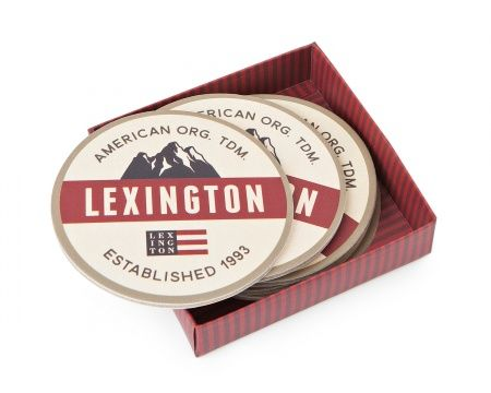 Holiday Coaster Set. Lexington Company Holiday Home Collection 2016. Get home interior inspiration for the Holidays and Christmas on www.lexingtoncompany.com