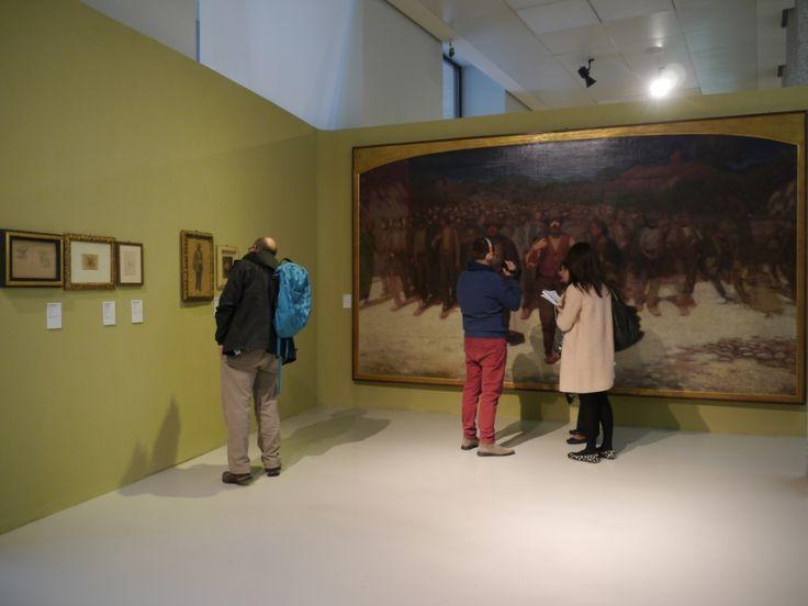 Fiumana esposta al Museo del 900
