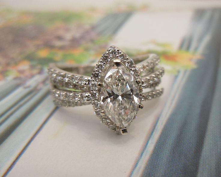 Best 25 Marquise diamond rings ideas on Pinterest
