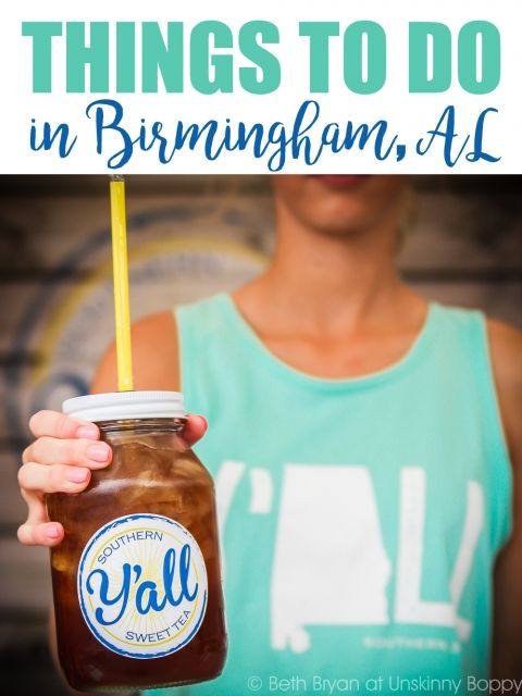 Things to Do in Birmingham, Alabama- Y'all Sweet tea | Photo by Beth Bryan | www.unskinnyboppy.com