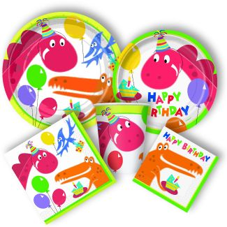 Dinosaur Party Supplies here at http://www.discountpartysupplies.com/boy-party-supplies/dinosaur-times