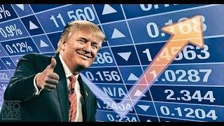 BREAKING NEWs  Wall Street Gone Wild  Trump Rally All 4 Stock Markets Break Records