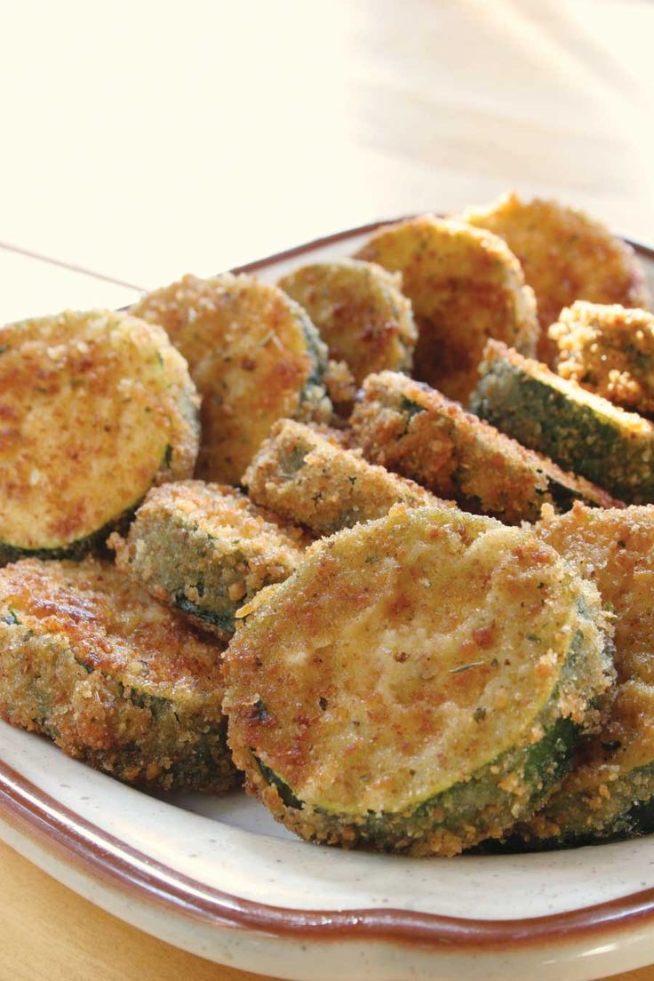 A popular vegetable side, this Breaded and Fried Zucchini recipe accompanies a main meat dish to perfection.