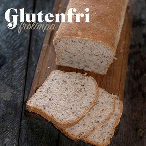 En enkel och supergod glutenfri limpa som är lätt att lyckas med