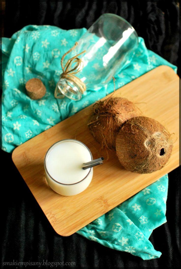 Domowe mleczko kokosowe by Smakiempisany