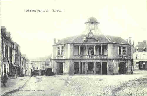 Gorron - le Mairie 1915