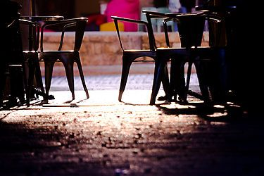 coffee place - Photographic print  $9.95