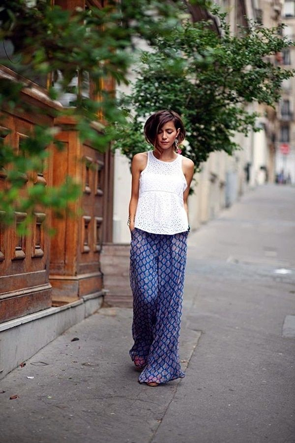How to wear palazzo pants Styles Covered (13)