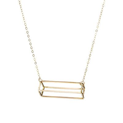Look what I found at UncommonGoods: 3d rectangle necklace... for $96 #uncommongoods