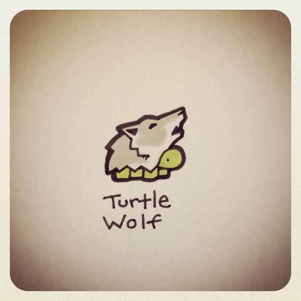 Turtle Wolf #turtleadayjune - @turtlewayne- #webstagram
