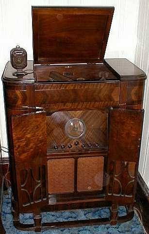 1930 S Radio Phonograph Console Novel Inspiration
