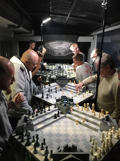 Strategy game for the modern mind. One on One, Guerrilla style tactics, inspired by chess.