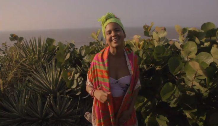 Liliana Saumet of Bomba Estereo