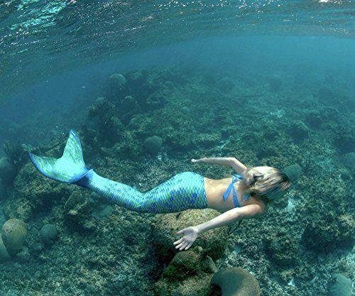 Fin Fun Mermaid Tail, Fin Fun Monofin, Aussie Green, Size Child 6 - http://our-shopping-store.com