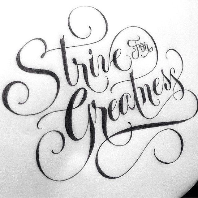 script - lettering