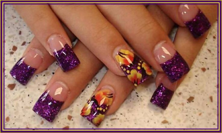 purple nail design nails 2 die