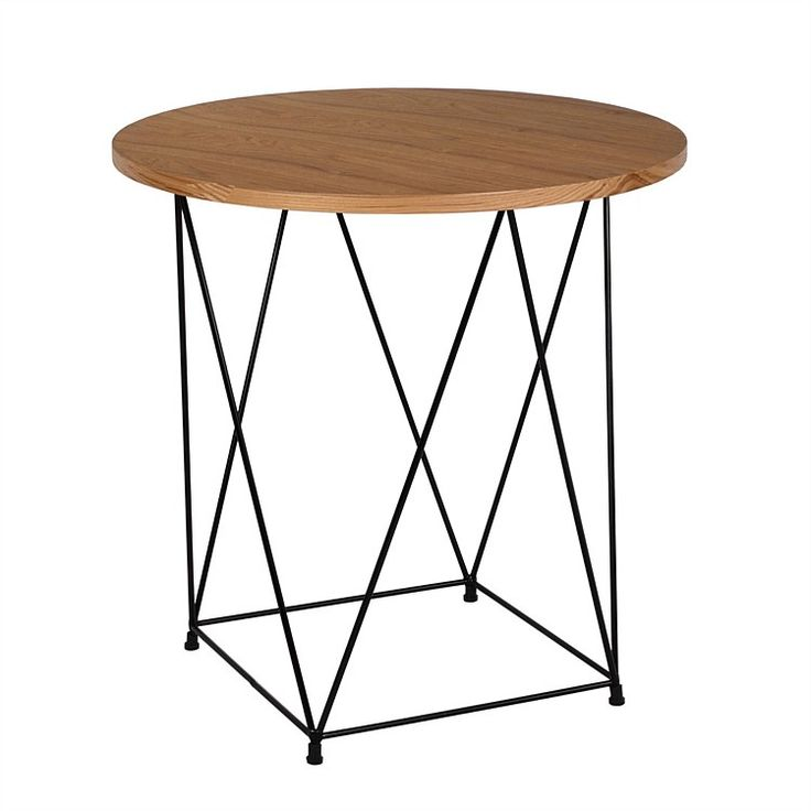 Side tables - Stilts Side Table 50cm Dia
