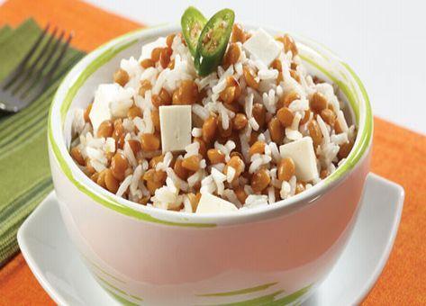 Una Fácil y Deliciosa Receta Clásica de Lentejas con Arroz, Ingredientes y Modo de Preparación Paso a Paso, Recetas chilenas con Legumbres