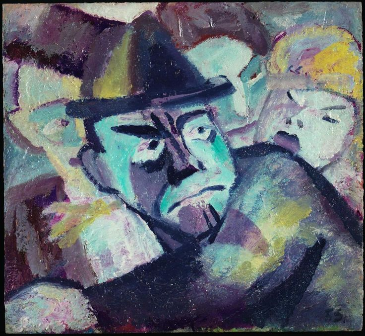 Faschingskoepfe, c.1919-27 by Fritz Schaefler (German 1888-1954)