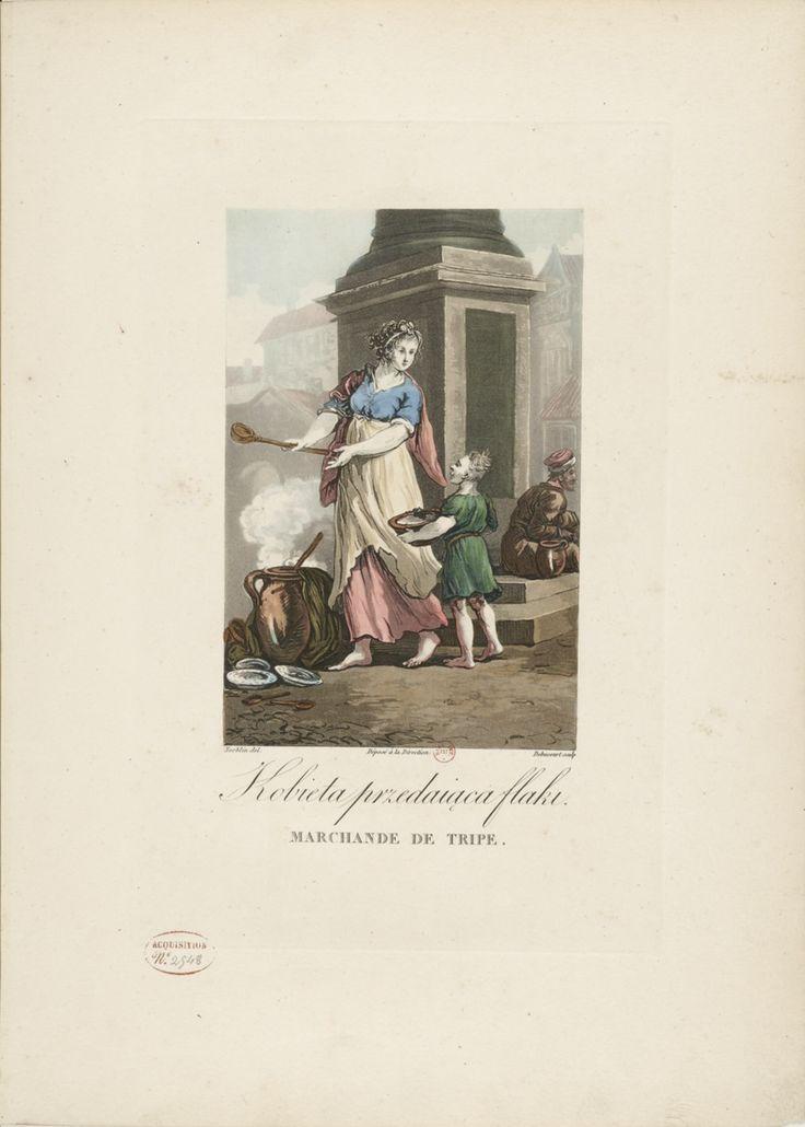 LAVIGUE: Collection de costumes polonais (1817)