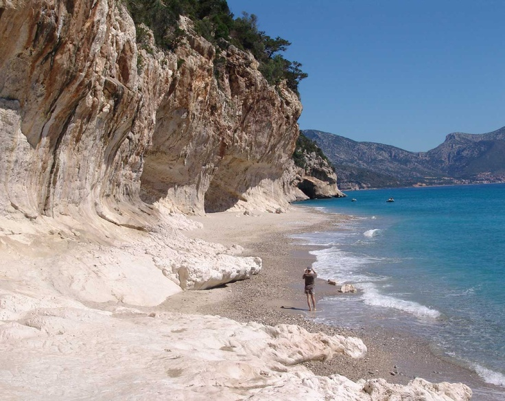 Cala Luna Beach - The Territory of Sardinia - The Orosei Gulf