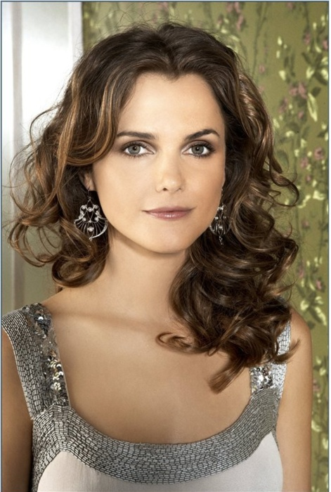 Keri Russell gorgeous hair and makeup