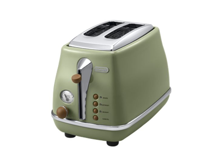 2 Slice Electric Toaster Pastel Pink Toastmaster Automatic kitchen Electric