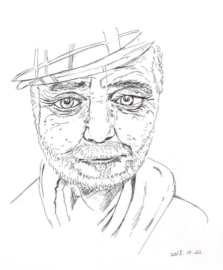 pen drawing, 2015.10.22