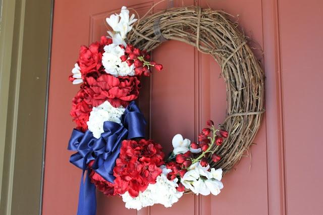 The Sweet Survival: Patriotic Wreath