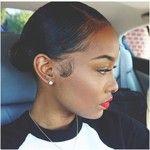 Sleek Low Bun Tutorial For Natural Hair