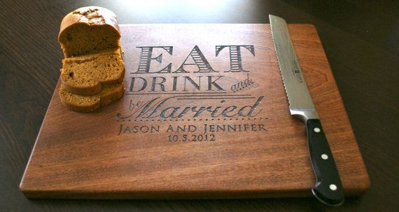 Personalized Cutting Board Engraved Custom by TaylorCraftsEngraved